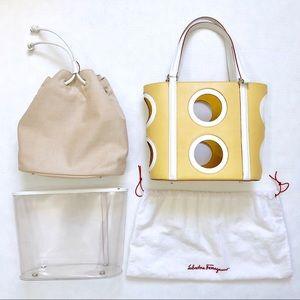 Rare Vintage Ferragamo 2-way Handbag